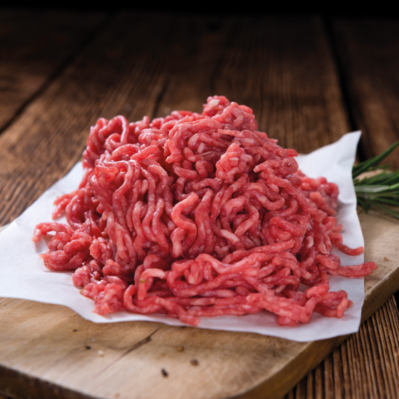 Carbon neutral beef mince