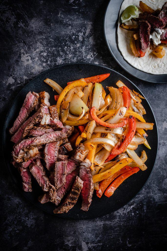 Rump Steak Fajitas